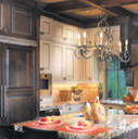 Canyon Creek Cabinets eclectic-kitchen-cabinets