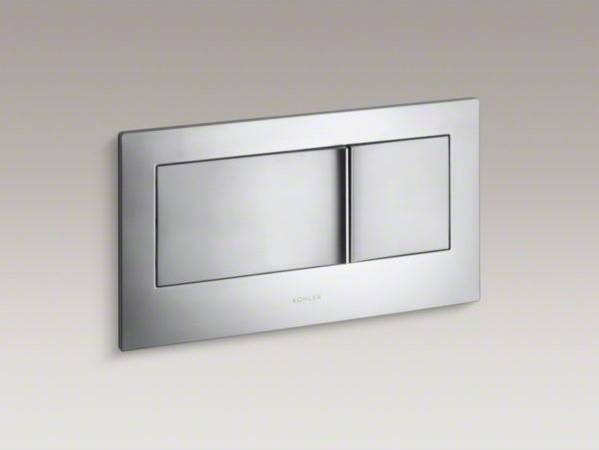 KOHLER Veil(TM) flush actuator plate contemporary-toilet-accessories