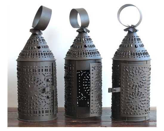 Punched Tin Lantern-Reproduction -