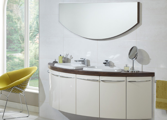 Symmetry - Contemporary - Bathroom Cabinets And Shelves - other metro - by Utopia Bathroom Group
