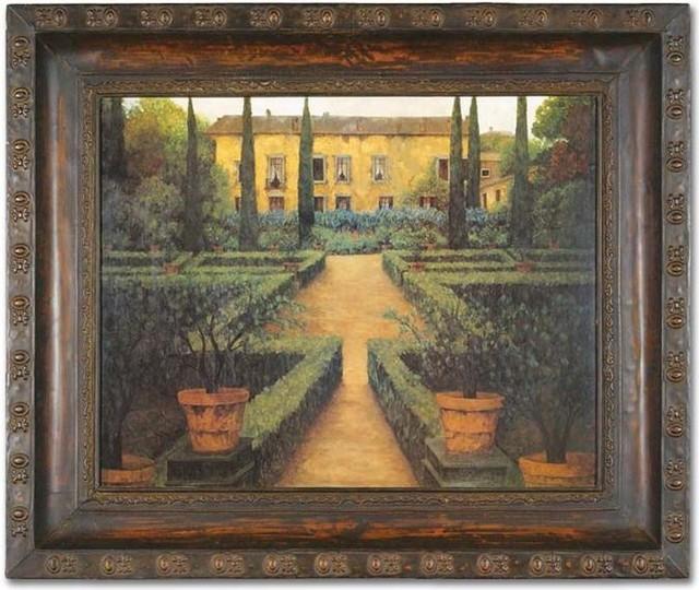 Uttermost Garden Manor Framed Art modern-artwork