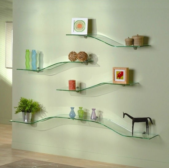 Glass Shelves - Modern - Display And Wall Shelves - dc ...