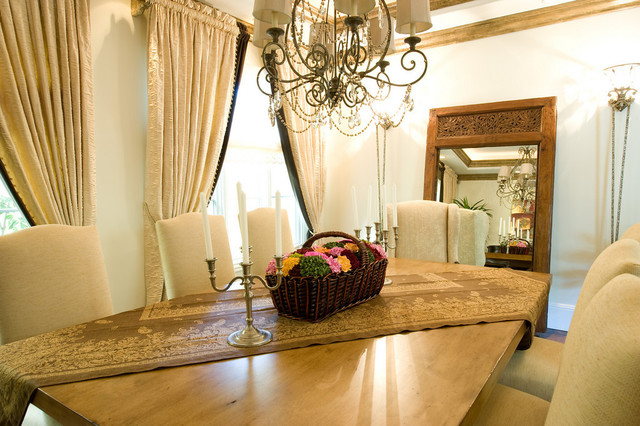 Family Home that is classic, warm, beachy and beautiful. traditional-dining-room