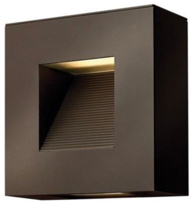 Luna Square Outdoor Wall Sconce by Hinkley Lighting wall-lighting