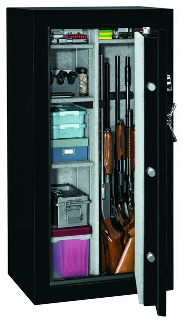 Stack-on GSTD-22-GB-E Total Defense Fire Resistant & Waterproof Safe w/ Electron - Contemporary ...