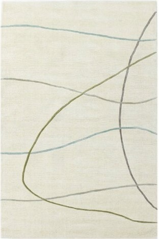 Kas Rugs Transitions 3311 - Ivory Visions contemporary-rugs