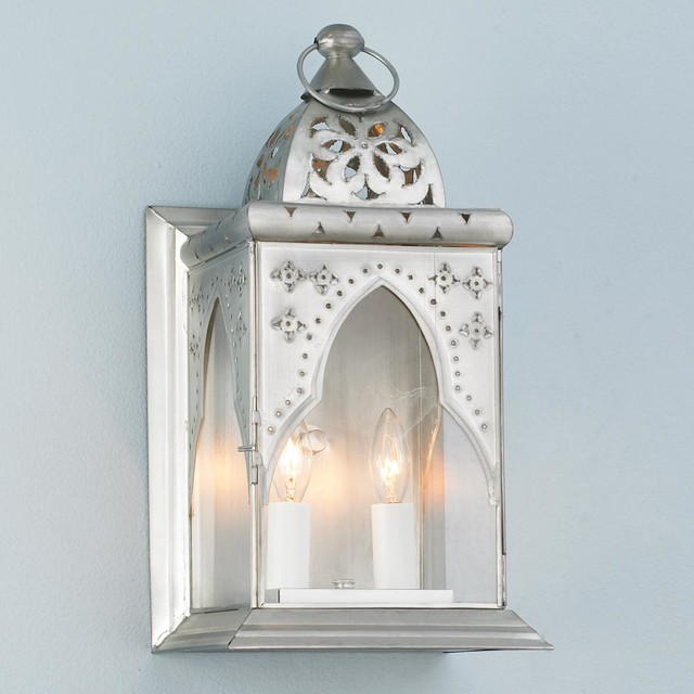 Moroccan Wall Sconces Lighting : Moroccan Arch Wall Lantern Sconce - Outdoor Wall Lights And Sconces - by Shades of Light