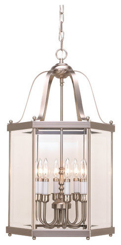 Sea Gull Lighting 5216 Wrought Iron Incandescent Six Light Hall Foyer Fixtur