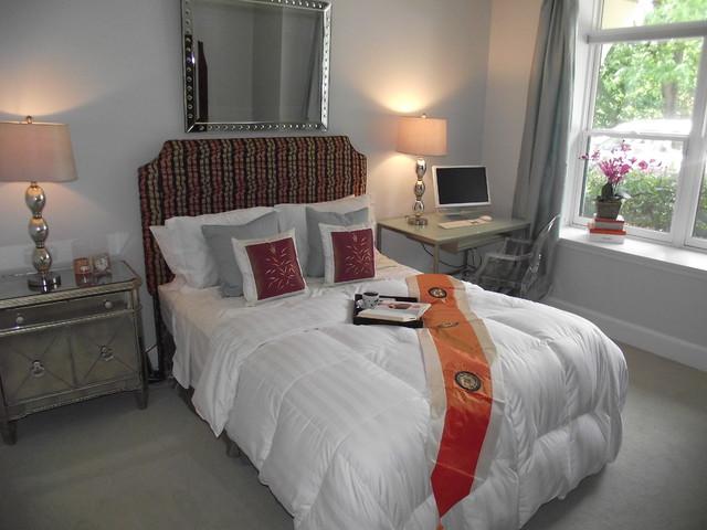 Parker Interiors Bedroom Stagings eclectic-bedroom