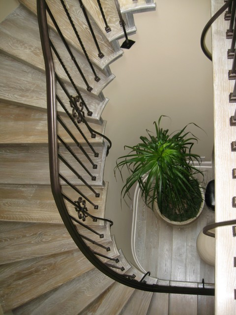 D for Design - Morning Canyon -  Corona del mar Ca. mediterranean staircase