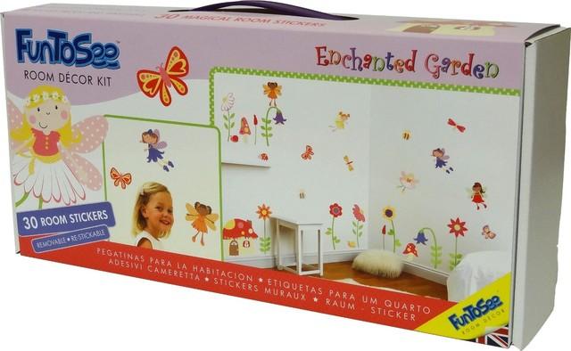 Enchanted Fairy Garden Girls Nursery And Bedroom Decal Kit