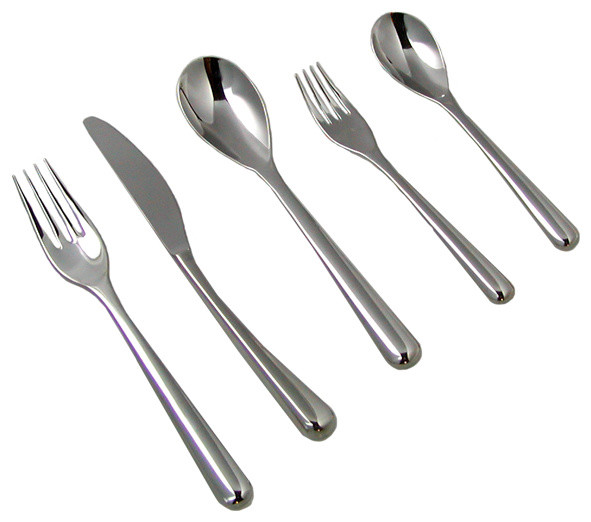 iittala Renzo Piano 5-Piece Place Setting modern-flatware
