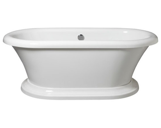 Archive Freestanding Soaking Bath - Traditional Styling