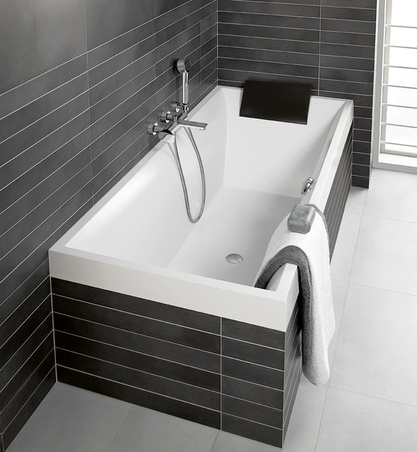 Bath tile gallery modern tile seattle by ambiente for Salle de bain 5m2 baignoire