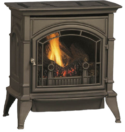 Majestic CSVF30SNVEMB CSVF Series Vent-Free Gas Stove modern-fireplaces
