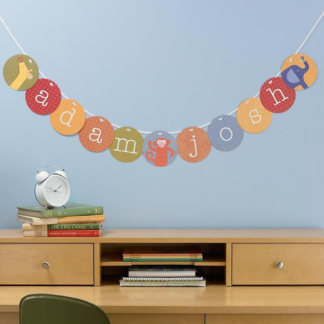 Your Sentiments Exactly Garland Kit contemporary-nursery-decor
