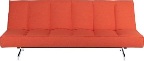 Flex Orange Sleeper Sofa modern sofa beds