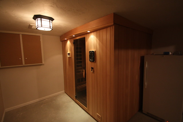Sauna in basement for Building a sauna in the basement