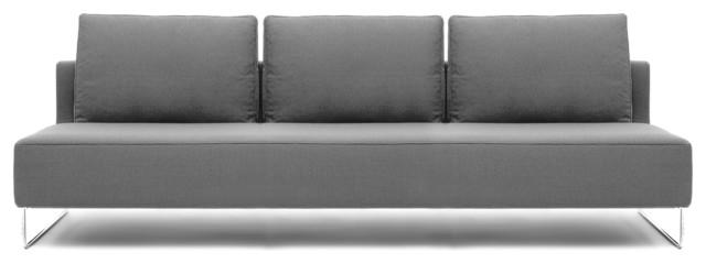 "Canyon 86"" Armless Sofa modern-sofas"