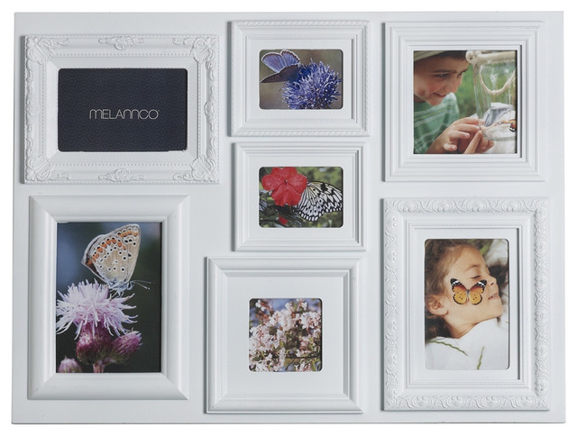 White Collage Picture Frames - China White Red Edge Collage Photo ...