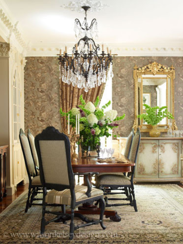french country dining room traditional dining room