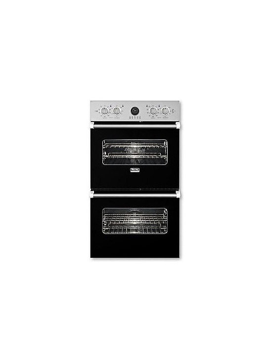 "Viking 27"" Double Electric Wall Oven, Black 
