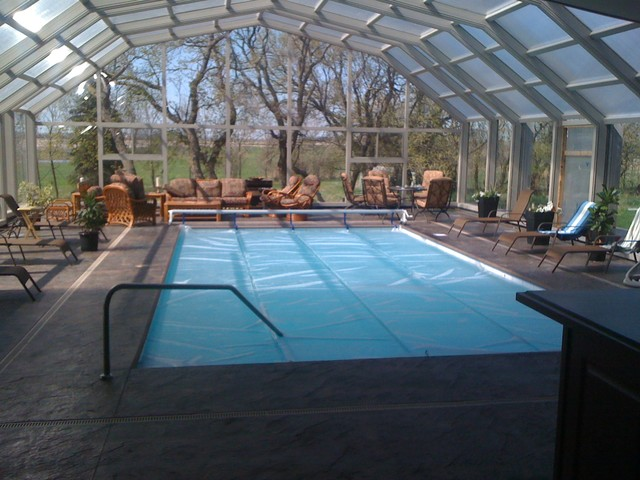 Retractable Pool Enclosure Modern Swimming Pools And