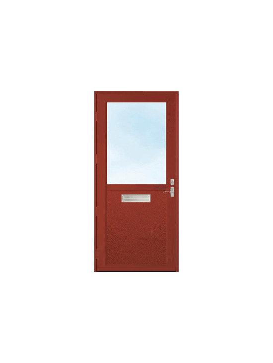 Storm Doors - The right storm door brings out the beauty in your home's primary door. Make your home more attractive today and add this to one of your ideabooks! | Baltimore, MD | Clearview Window & Door Company