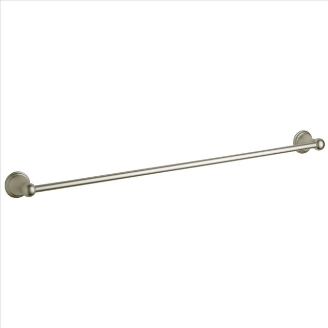 Grohe 40146EN0 Geneva Towel Bar Traditional Towel Bars And Hooks By Pos