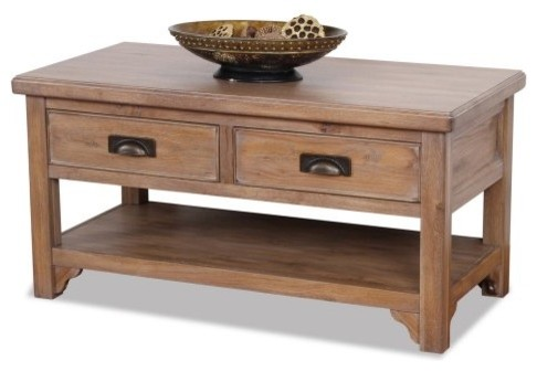 Reflecting everyday livability and functionality the Leick 11004 Windswept Two D modern-coffee-tables