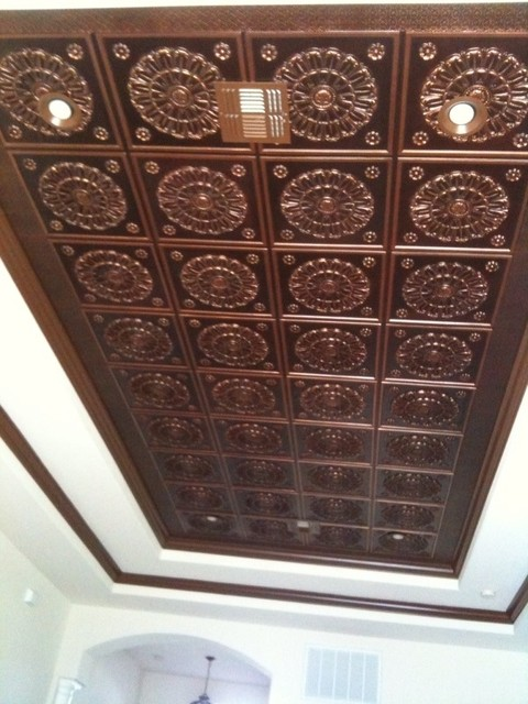 Glue-Up Ceiling Tiles