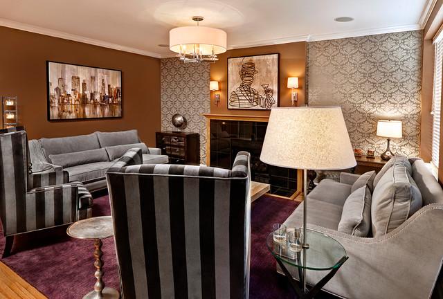 Boutique Living Room contemporary-living-room