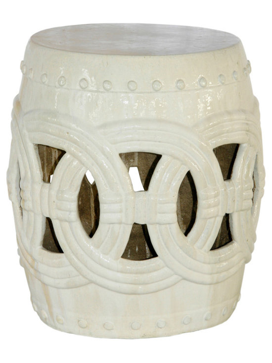 Garden Stools - Belle and June's garden stools are the ultimate accent pieces and are available in a variety of styles and colors making them perfect for mixing and matching. Whether you're drawn to a contemporary white stool or an Asian inspired design, these stools add a touch of culture and depth to any room.