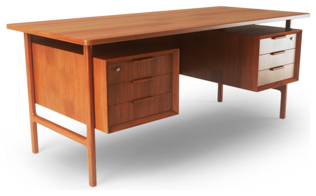 Desks Cushing desk modern-desks