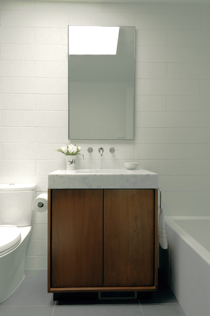 Marble Bathroom Sink contemporary-bathroom