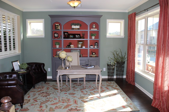 Rockford Commons Model Home traditional-home-office
