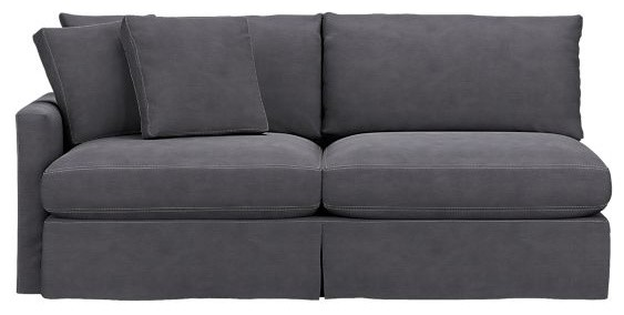 Slipcover Only for Lounge Left Arm Sectional Sofa contemporary sectional sofas