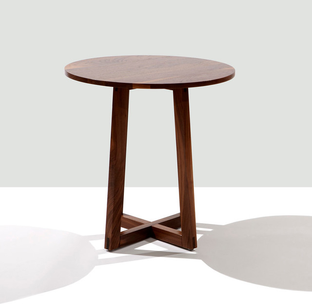 Finn round side table contemporary side tables and end for Side end table