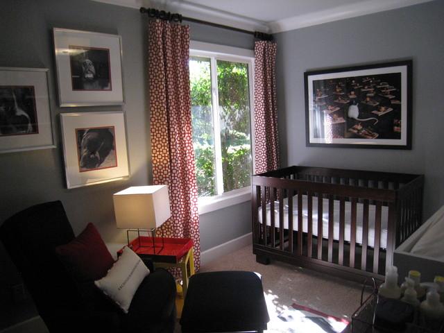 Baby Boy's Urban Cool Nursery eclectic-nursery