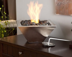 Anywhere Fireplace Empire Table Top Indoor / Outdoor Fireplace contemporary-fireplaces