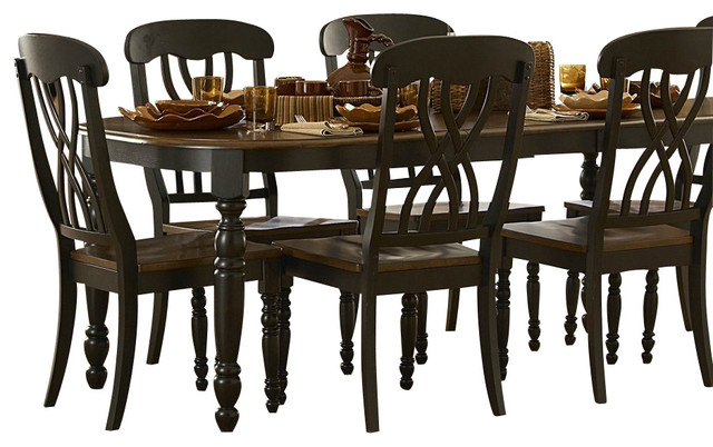 Homelegance Ohana 8-Piece Rectangular Dining Room Set in ...
