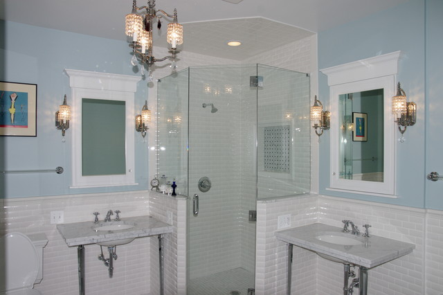 Vintage Bathroom - Traditional - Bathroom - chicago - by Normandy Remodeling