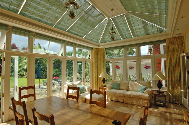 Conservatory Shades traditional-greenhouses