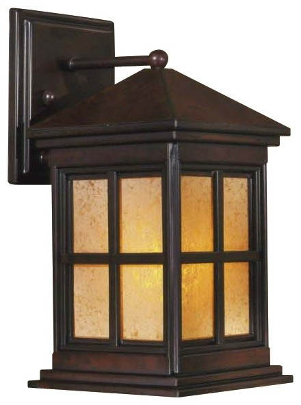 Berkeley 12 1 4 High Arts And Crafts Outdoor Wall Light Traditional
