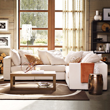 Pottery Barn Style Living Room
