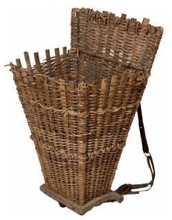 Wicker Grape Harvest Hotte - Mediterranean - Baskets - new york - by ...