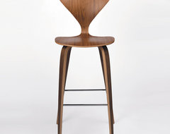 Cherner Chair Wood Base Stool - Bar modern bar stools and counter stools