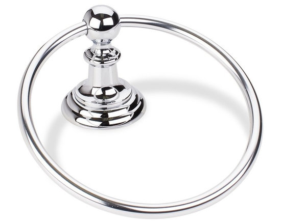 Elements - Elements Conventional Bathroom Towel Ring - Conventional style towel ringThe Elements collection by Hardware Resources has been designed to meet the need for beautiful, yet cost-conscious decorative hardware. Through our devotion to innovation, we are able to offer you uncompromising quality and style at an affordable price.