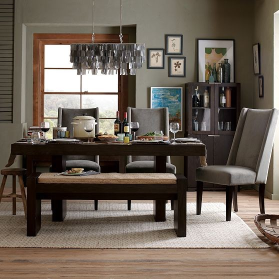 west elm dining room | Terra Dining Table - Modern - Dining Tables - by West Elm
