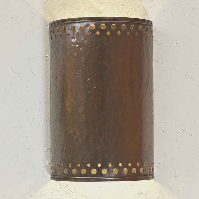 Hammered Copper Outdoor Light - Outdoor Wall Lights And Sconces - by Shades of Light